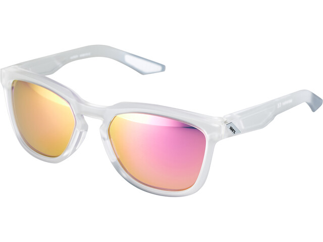 100% Hudson Multilayer Mirror Brille translucent crystal clear